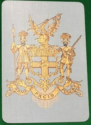 Playing Cards Swap Card Old Antique Wide HAC HONOURABLE ARTILLERY Co Military 2