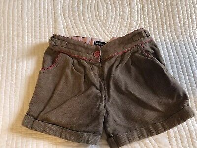 Autograph Marks And Spencer Girls Winter Shorts, 3-4 Years