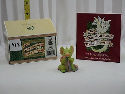 Pocket Dragons by Real Musgrave - NIB - PD415 - A Little Security