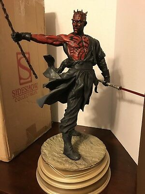 Sideshow Mythos Darth Maul Statue Exclusive Premium Star Wars FREE SHIPPING
