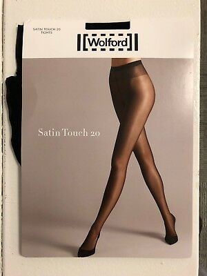 Hosiery & Socks Clothing, Shoes & Accessories New Wolford Muse Tights Pantyhose Black Small 18767 25 Den