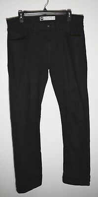 379f0cf1d8 Analog Dylan Rieder Jeans Signature Fit Men s 32 Ink Black Excellent Cond -  Rare