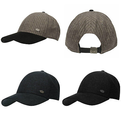 b1f26af4 Firetrap Magma Cap NEW Sports Stripe Black Navy Grey Mens Hat Baseball Cap