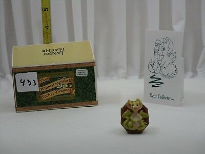 Pocket Dragons by Real Musgrave - NIB - PD433 - Little Jewel (brooch)