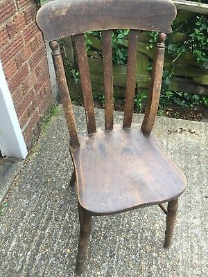Antique Classic Dinning Chair Old