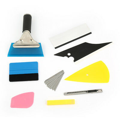 8in1 Squeegee Car Window Tinting Auto Film Install Wrapping Applicator Tools pow