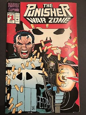 The Punisher: War Zone #1 (Mar 1992, Marvel)