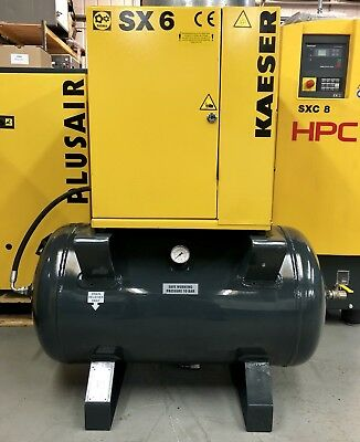 HPC / Kaeser SX6 Receiver Mounted Rotary Screw Compressor! 4.0Kw, Immaculate!