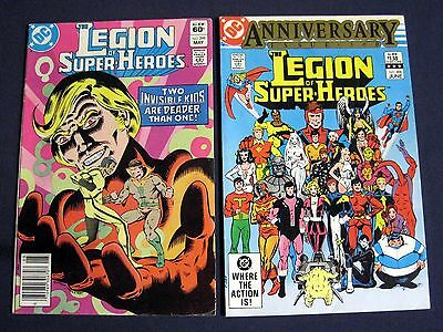 LEGION OF SUPER-HEROES Lot of 2 # 299 & 300 ANNIVERSARY ISSUE