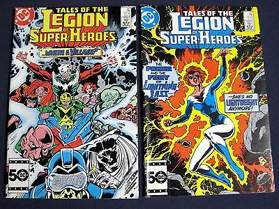 TALES OF THE LEGION OF SUPER-HEROES Lot of 2 # 327 & 331