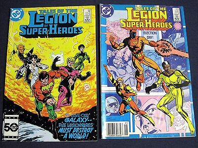 TALES OF THE LEGION OF SUPER-HEROES Lot of 2 #  333 & 335