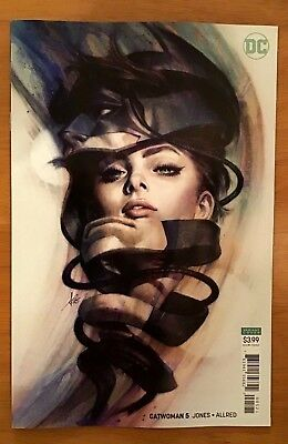 Catwoman 5 2018 Cover B Variant Stanley Artgerm Lau Cover 1st Printing DC NM+