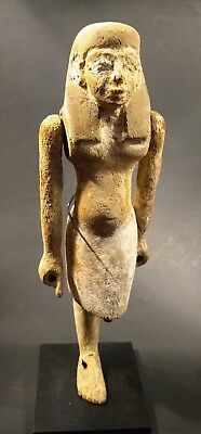 Museum Quality Ancient Wooden Egyptian Overseer Figure  - 2030 to 1650 BC