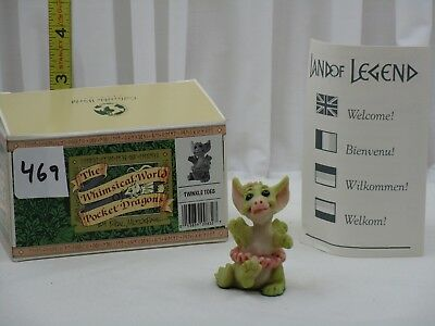Pocket Dragons by Real Musgrave - NIB - PD469 - Twinkle Toes