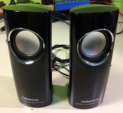 Speakers OMEGA Cassini Multimedia USB supply 3.5 jack