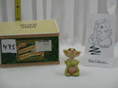 Pocket Dragons by Real Musgrave - NIB - PD475 - You Can't Make Me