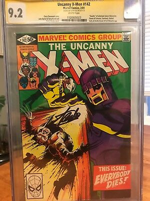 The Uncanny X-Men #142 CGC SS 9.2 Signed By Stan Lee (Feb 1981, Marvel)