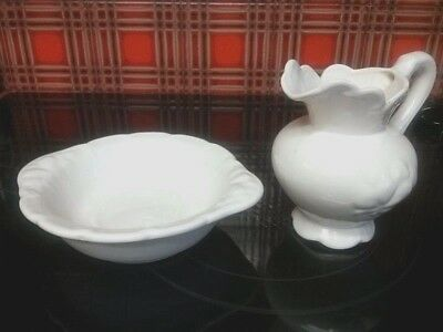 Camark  Pitcher  And  Bowl