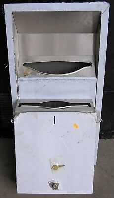 Stainless Steel Commercail Towel And Waste Dispenser,  New