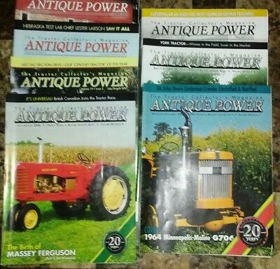 Antique Power  The Tractor Collectors Magazine lot of 7