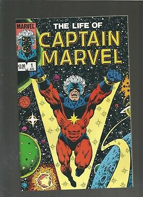 The Life of Captain Marvel #1 VF/NM (1985, Marvel) Thanos, COMBINE SHIPPING