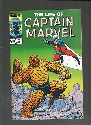 The Life of Captain Marvel #2 VF/NM (1985, Marvel) Thanos, COMBINE SHIPPING