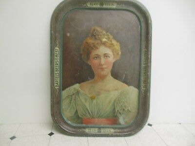 Bartels Brewery Beer Tray With Pretty Lady