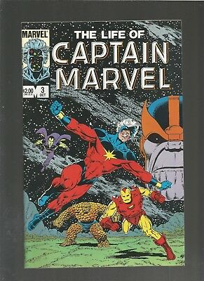 The Life of Captain Marvel #3 VF/NM (1985, Marvel) Thanos, COMBINE SHIPPING