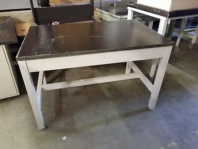 "Lab Crafters Laboratory work Station Table Resin Top 48"" x 30"" x 31"""