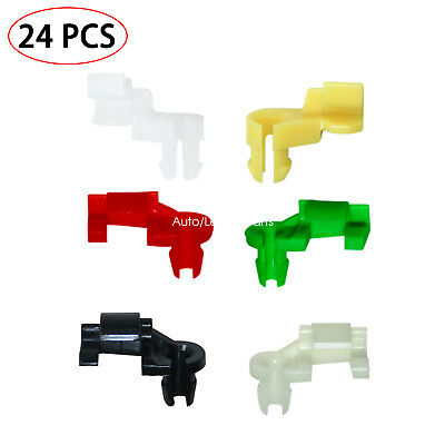 Push Clips Door Lock Rod Clip 5 mm Rod Size 12 Pairs Car Clips Tailgate