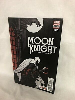 Marvel Moon Knight #200 by (W) Max Bemis, Jacen Burrows, Becky Cloonan (REG CVR)