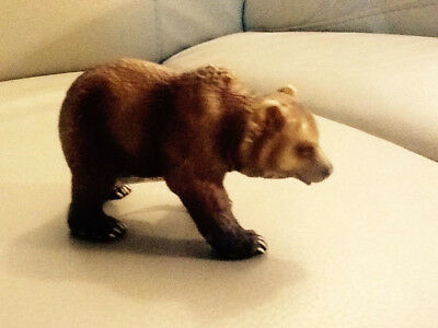 Schleich Brown Bear with Tag