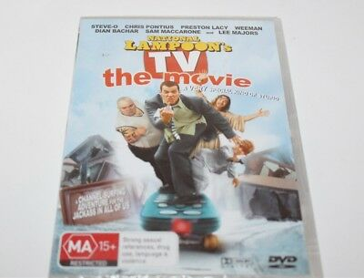 National Lampoon's TV The Movie DVD Brand New Sealed