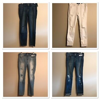 Clothing, Shoes & Accessories Jeans Realistic Mens Holister Jeans Size 30 Waist 32 Leg Buy One Give One