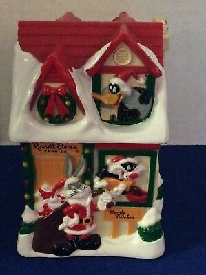 1997 Warner Bros Looney Tunes ~ Russell Stover's Candy Kitchen Plastic Bank
