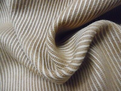 "100% WOOL SUITING~CALVARY TWILL WEAVE~TOAST BROWN~DOLL FABRIC ~12""x30"""