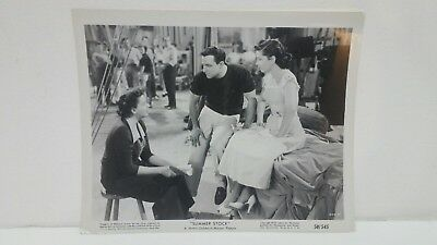 Judy Garland Gene Kelly Summer Stock Black & White Movie Still 8x10 Photograph