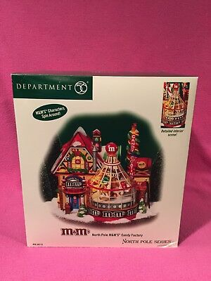 Retired 2004 Department 56 M&M's North Pole Candy Factory #56773