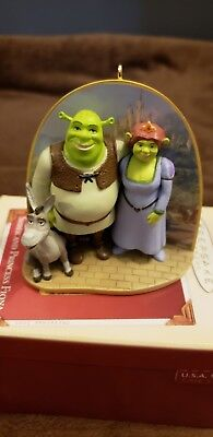 Hallmark Christmas ornaments Shrek And Fiona