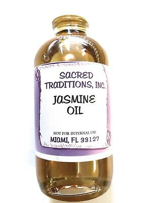 Jasmine Oil 4 oz 100% Natural Pure Undiluted Essential Oil Fragrant High Quality