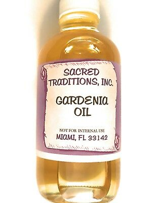 Gardenia Oil 100% Natural Pure Undiluted Essential OIL Sacred Tradition 4 oz