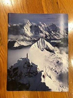 Vintage Patagonia Mail Order Clothing Catalog - Winter 2003 -heart of winter
