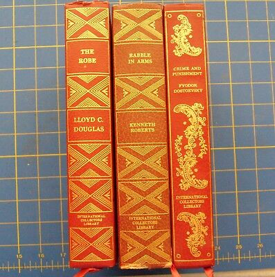 Collection of 3 Antique Book of The Month