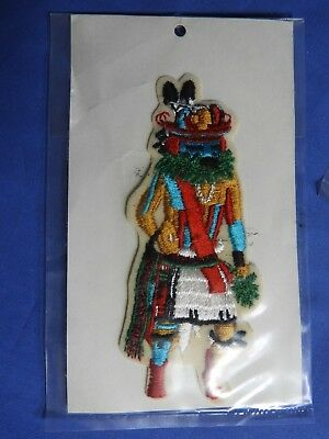 New  Kachina Tumoala Devils Claw * Vintage Patch Applique #108 * New In Package