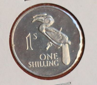 Zambia Shilling 1964 proof