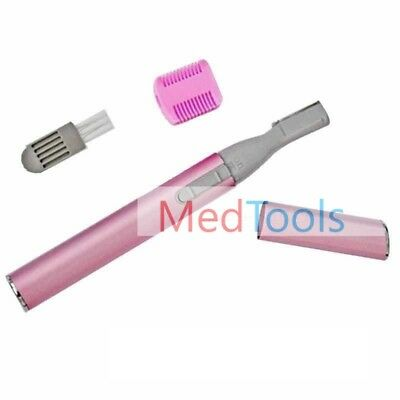 Facial Cheek Chin Arm Hair Remover Trimmer Shaver Finishing Touch Tool