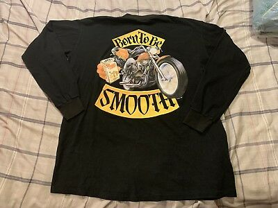 "Vintage 90s CAMEL Cigarettes ""Born To Be Smooth"" 1992 Long Sleeve T-shirt XL"