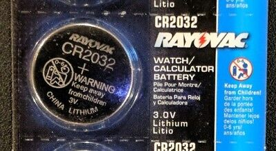 1 Single Rayovac CR2032 3V Lithium Battery DL2032 ECR2032 EXP 2024 USA SELLER