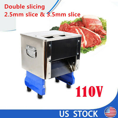 Commercial Grade 110V Electric Cutting Machine Slicing Shredding Dicing Cutting