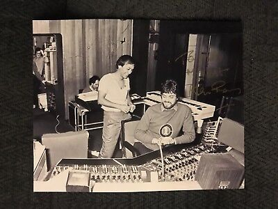 Alan Parsons Signed 8 X 10 Photo Autographed To Mike